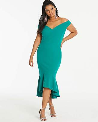5db533a2337 Bardot Simply Be By Night Fishtale Dress