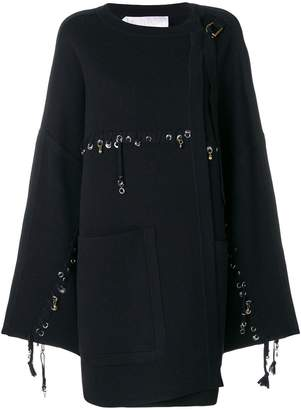 Chloé stitch and ring embellished jacket