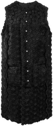 Comme des Garcons floral pattern sleeveless dress
