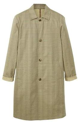 Mango man MANGO MAN Prince of Wales cotton trench