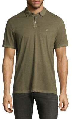 John Varvatos Space-Dye Cotton Polo