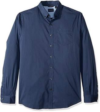 Dockers Big Bt Comfort Stretch No Wrinkle Long Sleeve Button Front Shirt