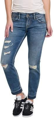 Silver Jeans Co. Sam Drop-Hem Boyfriend