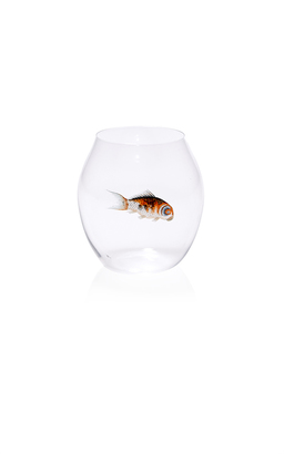 Glass Fish Tumbler