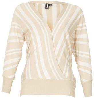 Dorothy Perkins Womens *Izabel London Multi White Striped Jumper