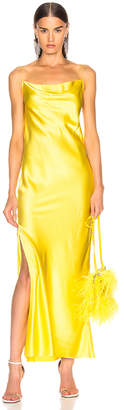 Marques Almeida Marques ' Almeida Bias Tube Dress in Yellow   FWRD