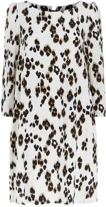 Claudie Pierlot Leopard Print Mini Dress