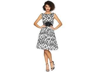 Unique Vintage Sleeveless Bella Swing Dress