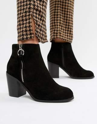 Asos Design DESIGN Explorer suede ankles boots