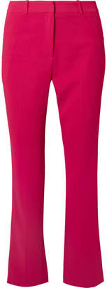 Givenchy Cropped Cady Straight-leg Pants - Fuchsia