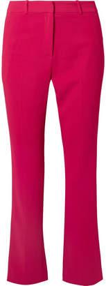 Givenchy Cropped Cady Straight-leg Pants - Fuchsia