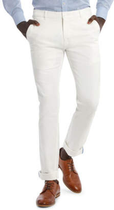Brooksfield NEW Cotton Stretch Chino Natural