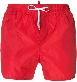 DSQUARED2 drawstring swim shorts