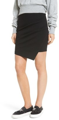 Women's Soprano Cross Front Miniskirt $39 thestylecure.com