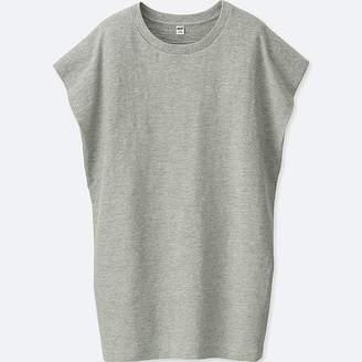 Uniqlo Women's Slub Short-sleeve Tunic