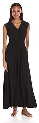 Julian Taylor Women's Short Sleeve Maxi Dress