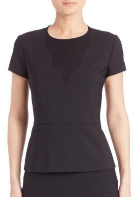 HUGO BOSS Iabina Peplum Top