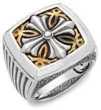 Effy Men's Sterling Silver Band Ring
