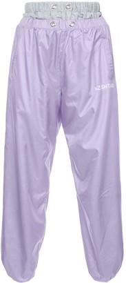 Natasha Zinko double waistband track trousers