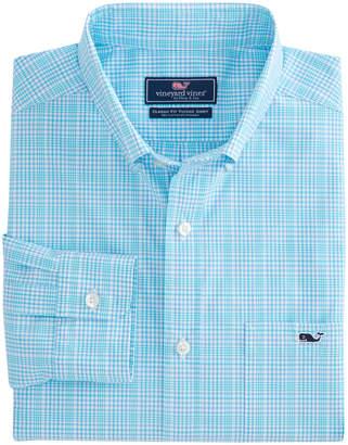 Vineyard Vines Rolling Harbor Plaid Classic Stretch Tucker Shirt