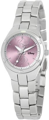 Disney Disney's Minnie Mouse Silhouette Women's Stainless Steel Watch