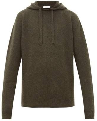 J.W.Anderson Wool Blend Hooded Sweater - Mens - Khaki