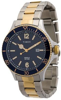 Harborside 42mm two-toned watch