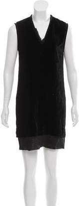 CNC Costume National Sleeveless Mini Dress