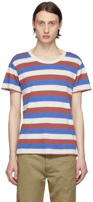 Visvim Multicolor Striped A-Line T-Shirt