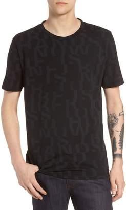 HUGO Dyrics Letter Graphic T-Shirt