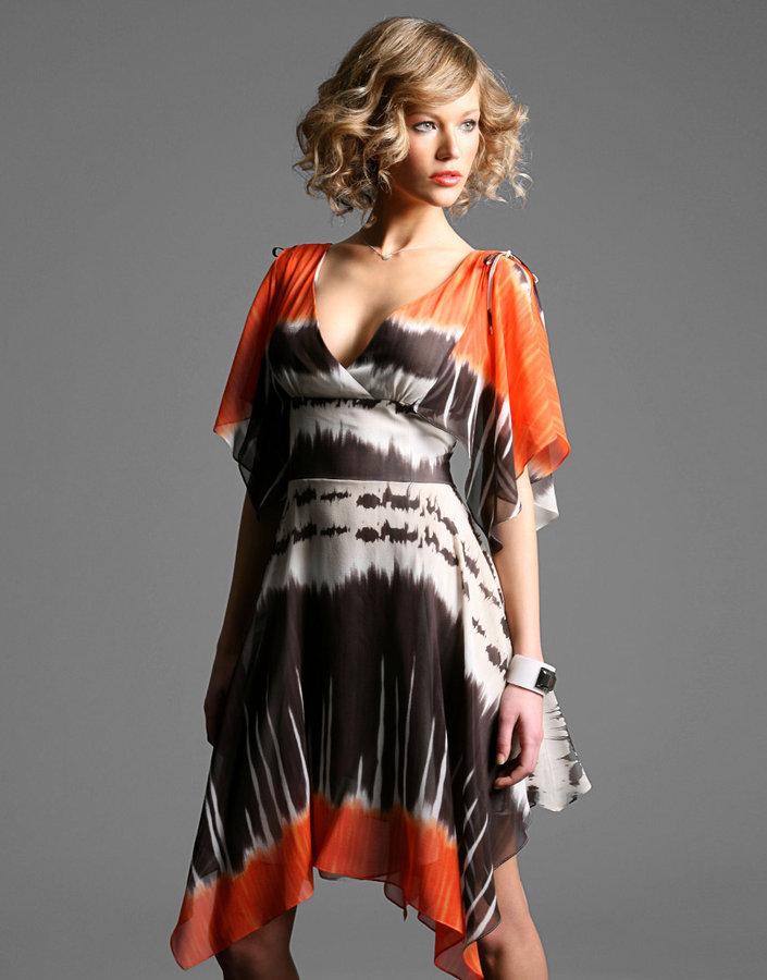 Karen Millen Silk Tie Dye Dress