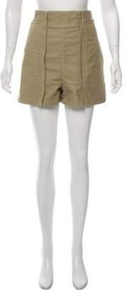 Chloé High-Rise Mini Shorts