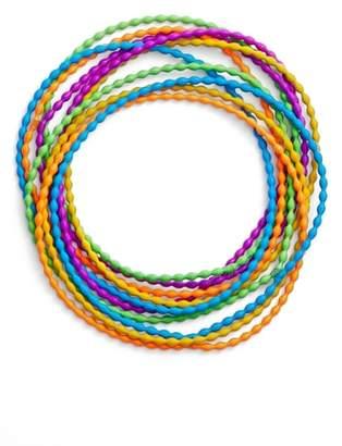 Adia Kibur Rice Set of 10 Necklaces