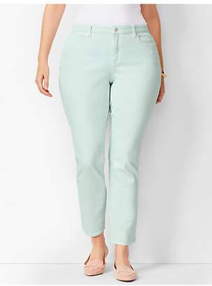 Talbots Slim Ankle Jeans - Curvy Fit - Light Cool Mint