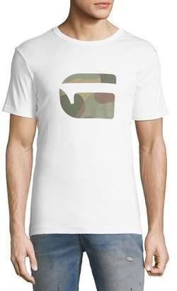 G Star G-Star Mai Slim Camo-Logo T-Shirt