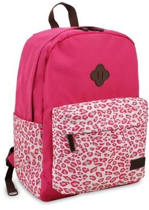 J World Fuse Laptop Backpack, Leopard