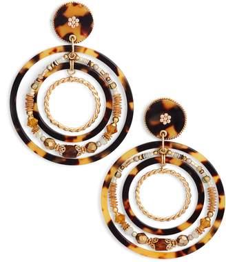 Gas Bijoux Alexia Hoop Earrings