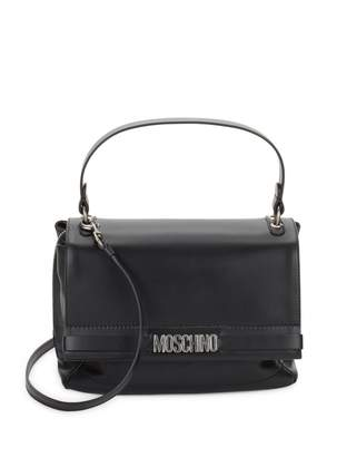 Moschino Leather Flap Satchel