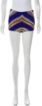 Missoni Knit Mini Shorts w/ Tags