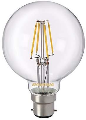 Sylvania 0027171 Toledo Retro G80 LED Lamp, Glass, Home Light, B22, 4 watts