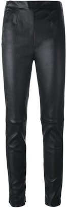 La Perla 'Leisuring' skinny trousers $2,989 thestylecure.com