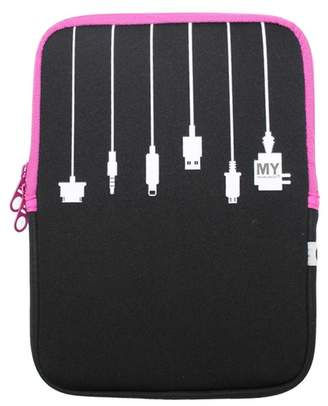 MYTAGALONGS Black\u002FPink Medium Tablet Sleeve