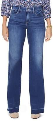 NYDJ Released-Hem Wide-Leg Trouser Jeans in Muir - 100% Exclusive