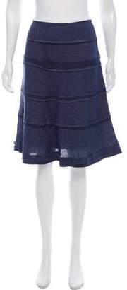 Cynthia Steffe Chambray Knee-Length Skirt