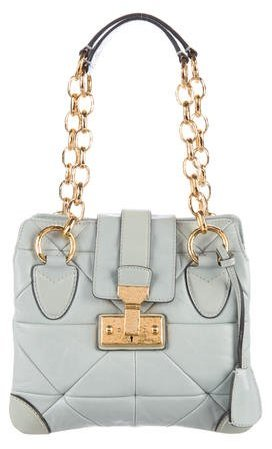 Marc JacobsMarc Jacobs Quilted Leather Handle Bag