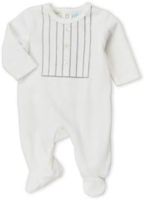 Baby Essentials Baby Dove (Newborn) Stitched Front Footie