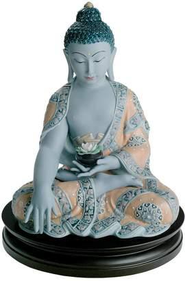 Lladro Medicine Buddha Porcelain Figurine