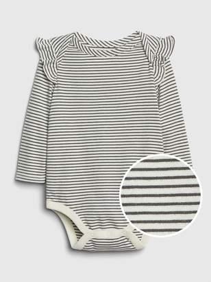 Gap Baby Organic Cotton Ruffle Bodysuit