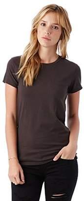 Alternative Women's Organic Cotton Short Sleeve Tee $28 thestylecure.com