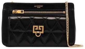 Givenchy black Pocket quilted leather shoulder bag
